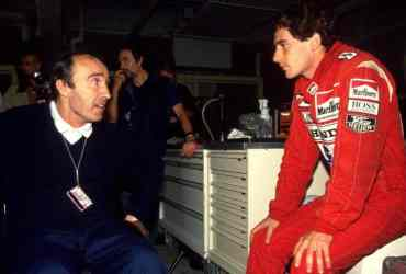 Frank Williams e Senna - Foto f1.com