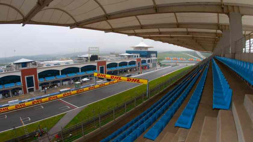 Istanbul Park Grandstand