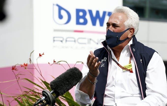 lawrence stroll racing point f1
