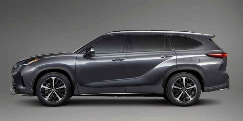 Toyota Highlander 2021 - Laterale