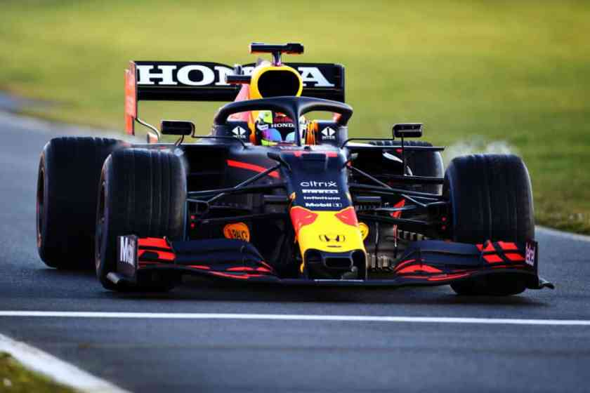 Perez Red Bull all'esordio a Silverstone sulla RB15