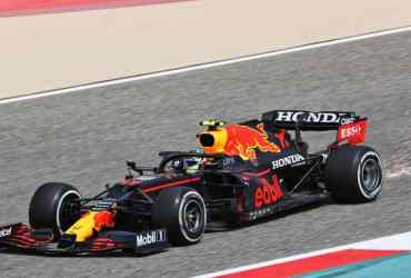 Perez Red Bull Test F1