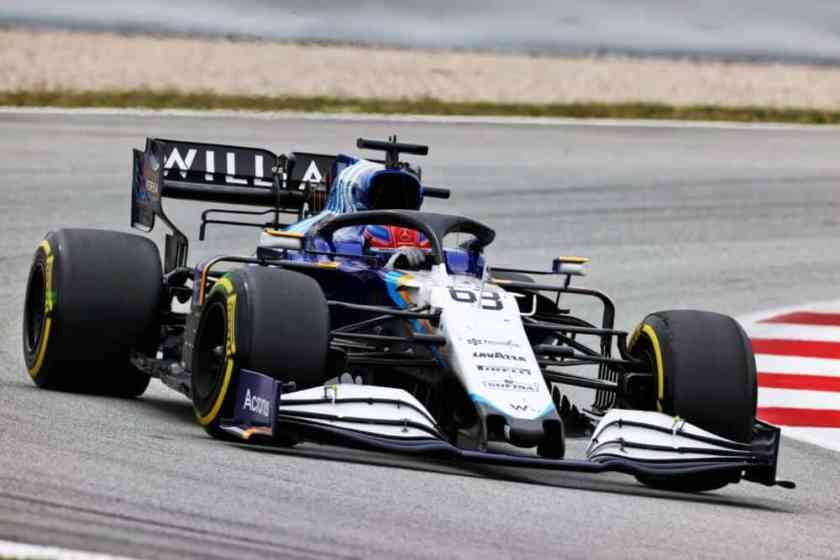 GP Spagna Williams Russell