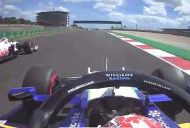 latifi mazepin haas williams qualifiche gp portogallo f1 idiota team radio video