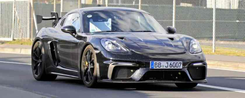 Cayman 718 GT4 RS