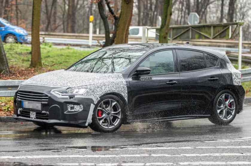 Ford Focus 2022 restyling