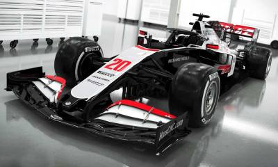 FORMULA 1 HAAS 2020 HAS UNVEILED NEW CAR