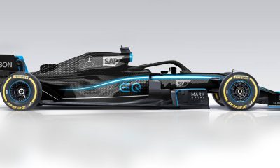 INEOS MERCEDES NEW SPONSORSHIP AND NEW LIVERY