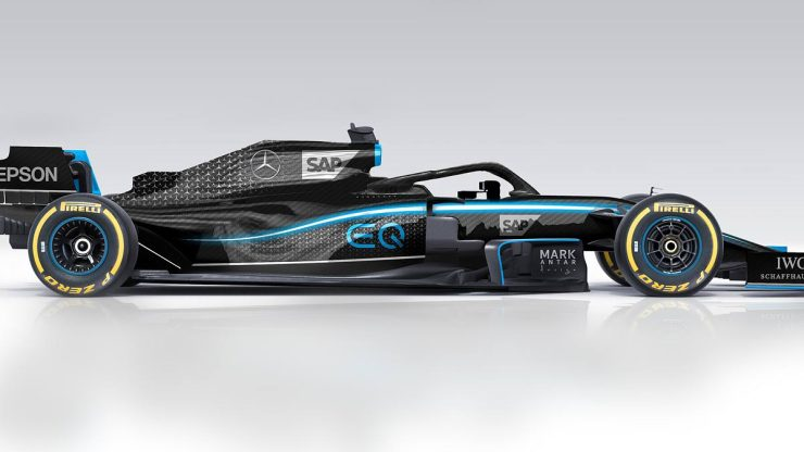 Ineos : Mercedes new sponsorship and new livery ?