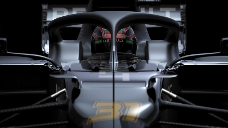 RENAULT HAS TEASED ITS CAR AHEAD OF THE 2020 FORMULA 1 SEASON