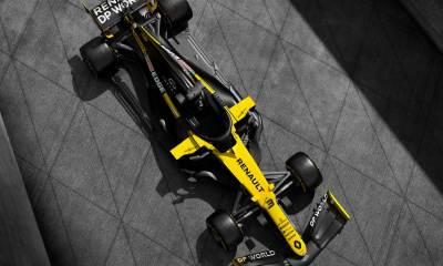 NEW RENAULT F1 2020 R.S.20 AND NEW TITLE SPONSOR