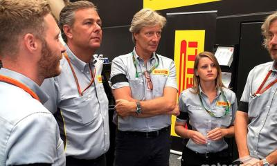 PIRELLI TEAM TESTS POSITIVE FOR CORONAVIRUS