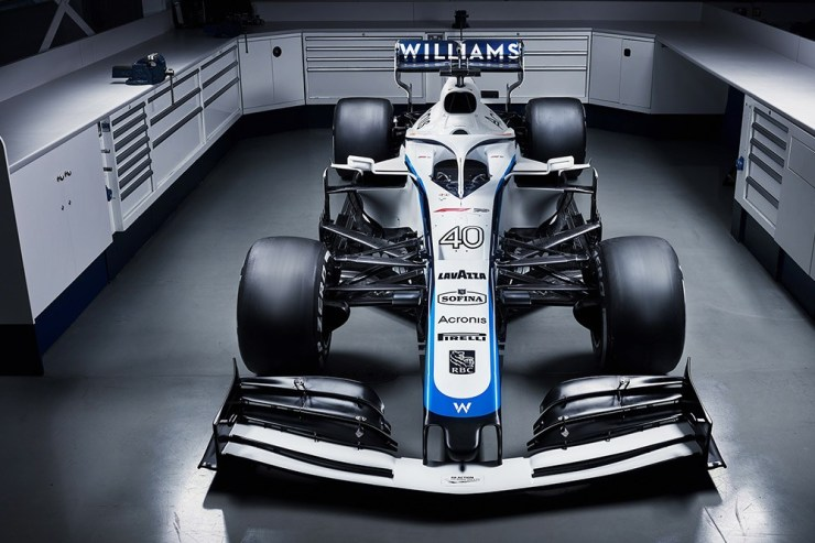 NEW LOOK FOR THE SEASON AHEAD FOR WILLIAMS F1 RACING