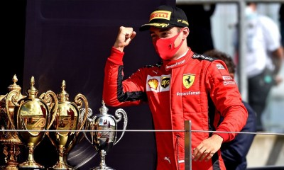 F1 BRITISH GP 2020 CHARLES LECLERC WAS LUCKY
