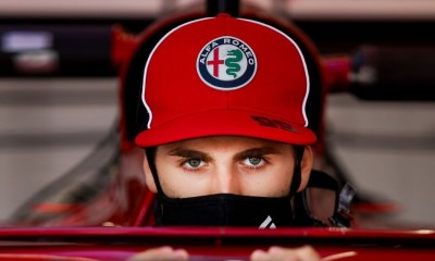 GIOVINAZZI I M HERE JUST BECAUSE OF RESULT AND TALENT