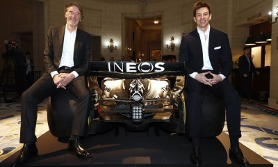 INEOS AND BRITISH INVESTOR BUY TEAM MERCEDES FOR 750 MILLION!