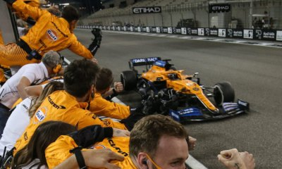 MCLAREN SECURED THIRD PLACE IN THE CONSTRUCTORS CHAMPIONSHIP