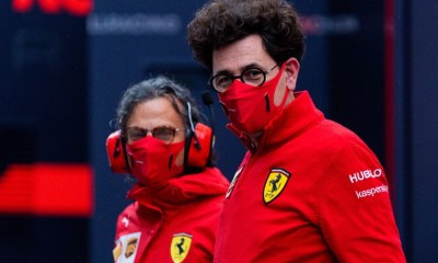 BINOTTO IS SET TO MISS SEVERAL ROUNDS OF THE 2021 F1 SEASON