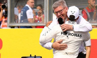 HAMILTON IS A HUGE FIGURE IN THE SPORT IT WOULD BE A SHAME TO RETIRE - BRAWN