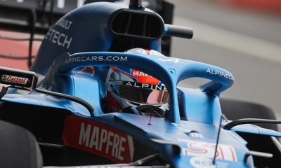 ALPINE F1 TEAM ON THE TRACK FOR THE FIRST TIME