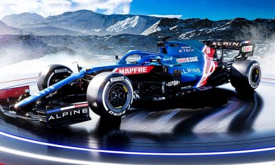Alpine presents A521 car for the 2021 F1 season