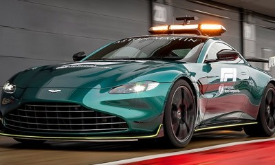 F1 2021 - THE NEW SAFETY AND MEDICAL CAR FROM ASTON MARTIN