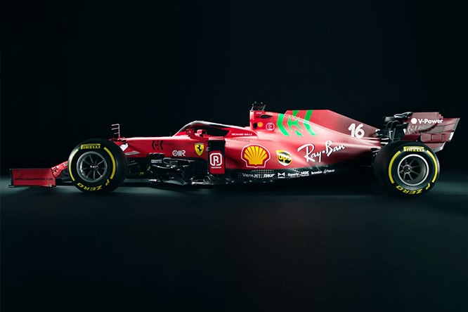 FERRARI LAUNCH THE NEW SF21 FOR THE 2021