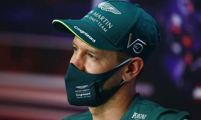 OUT OF Q1 ON ASTON MARTIN DEBUT VETTEL UPSET AND ANGRY