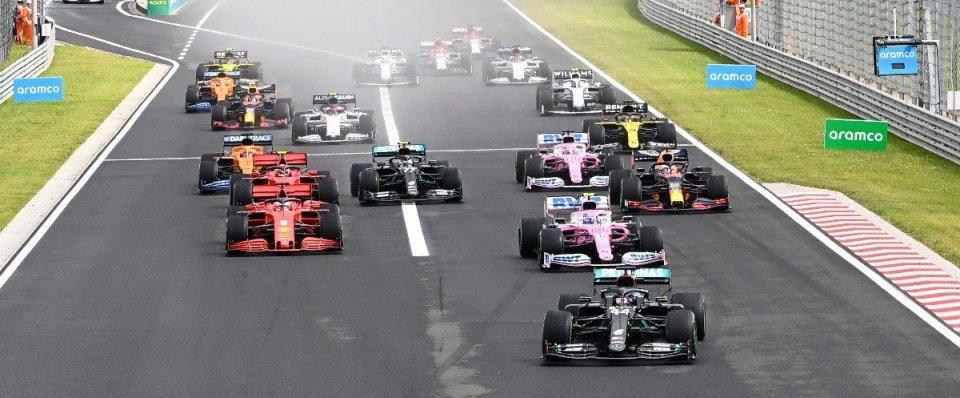 Départ du Grand Prix de Hongrie 2020 et les Haas démarrent en fond de grille