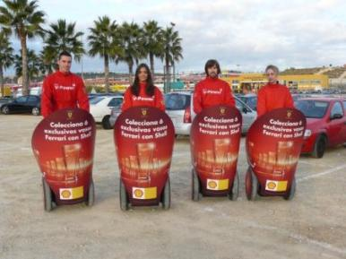 Shell vasos promocion