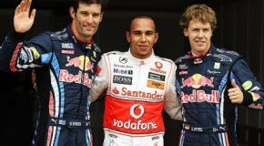 Hamilton a Red Bull en 2012