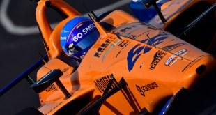 Fernando Alonso, McLaren Racing-Chevrolet. Photo: IndyCar