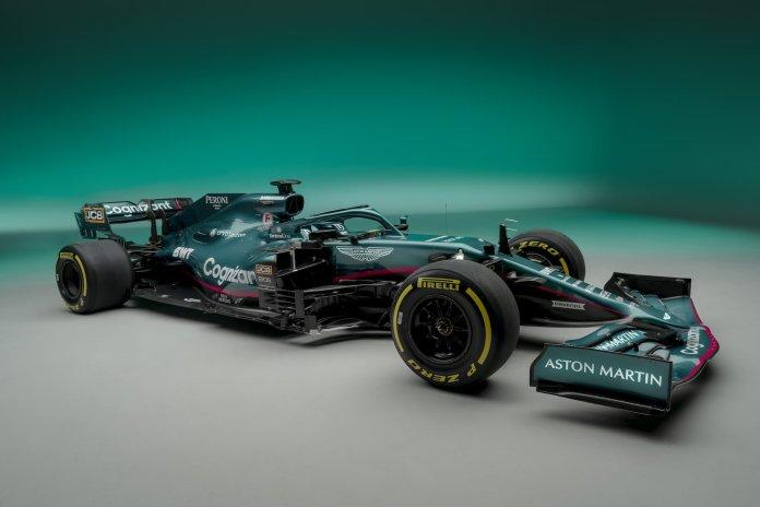 Aston Martin Cognizant Formula One Team AMR21 01 Prezentacje bolidów na sezon 2021