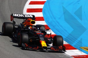 Max Verstappen second in qualifying Spanish GP: 'P2 at this circuit very good'