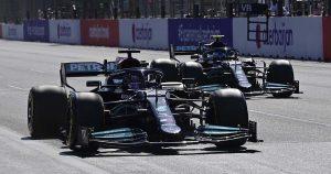 Why did Bottas struggle more than Hamilton in Baku?