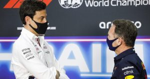 Wolff vows to ignore Red Bull 'noise'