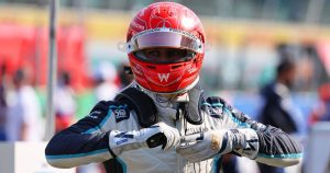 Williams making the most from 'mishaps' of others