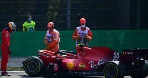 Sainz's confidence affected by 'weird' FP2 crash