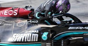 Mercedes provide update on Hamilton and W12 damage