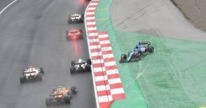 Gasly: 'There wasn't space' with Perez and Alonso
