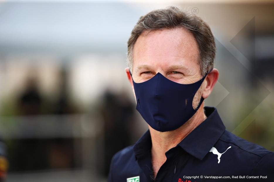 Horner na eerste pole positie van 2021: 'Fantastisch om seizoen zo te beginnen'