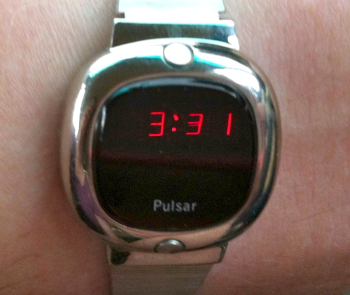 """Pulsar watch from 1976"" by Alison Cassidy CC-BY-SA 3.0"