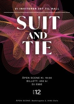 Maja Kleive - Suit and Tie