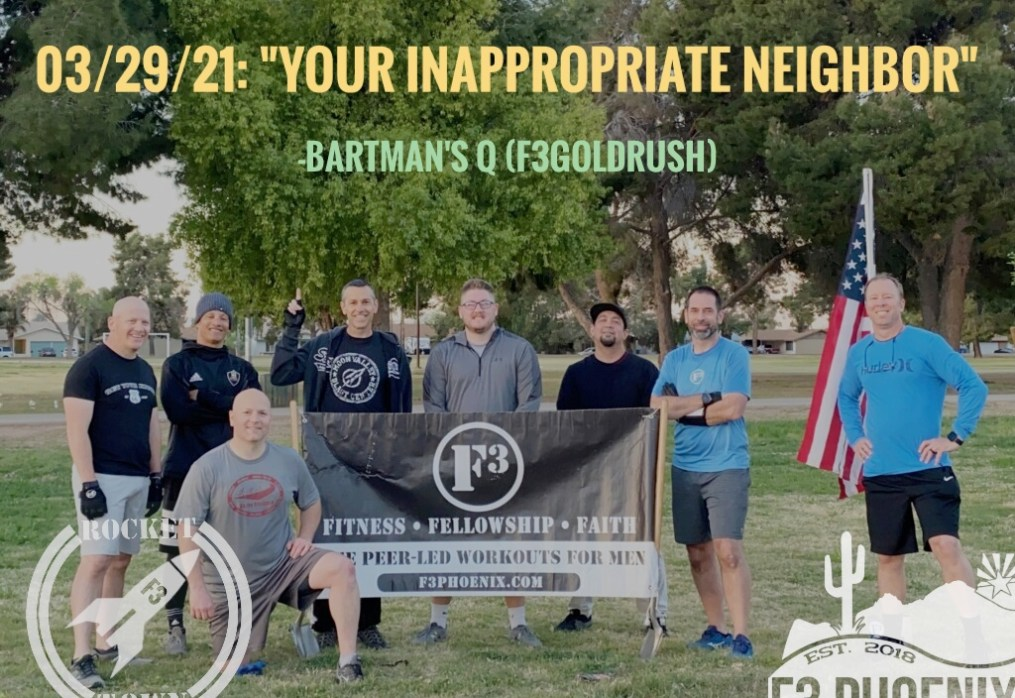 Your Inappropriate Neighbor (DR in F3 Phoenix)