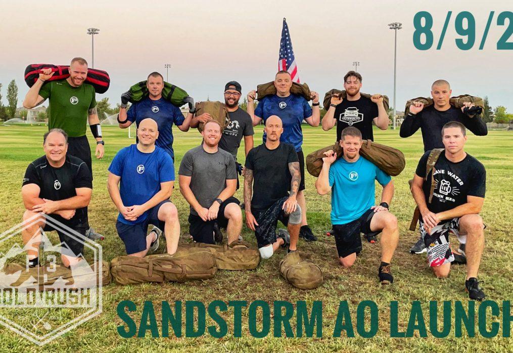 Sandstorm AO LAUNCH – Q: La Croix – 45 min SANDBAG beatdown