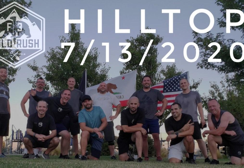Hilltop – 7/13/2