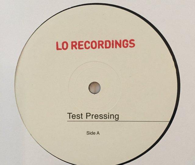 12 Test Press