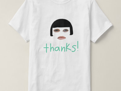 thanks! t-shirt main photo