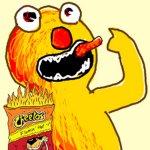 Flaming Hot Cheetos Clairo Cover Lena