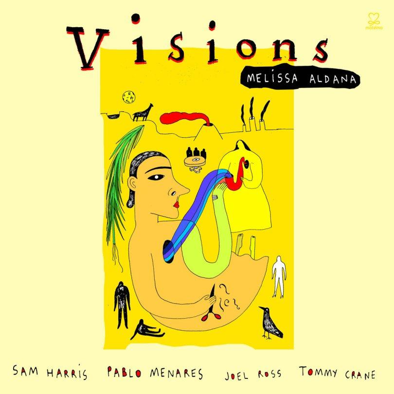 Image result for melissa aldana visions